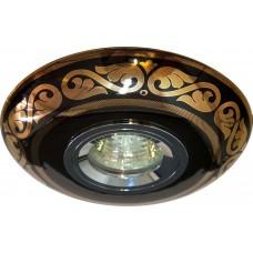 Светильник потолочный MR16 MAX50W 12V G5.3 золото,черный, С2525 28350