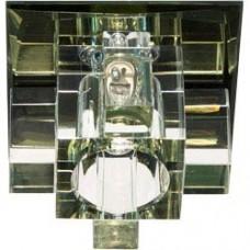 Светильник встраиваемый 1525 потолочный JCD9 G9 желтый 19785