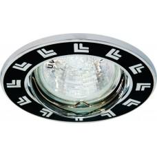 Светильник встраиваемый 2002DL потолочный MR16 G5.3 черный 17167