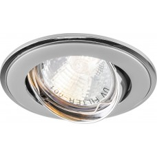 Светильник встраиваемый 301T-MR16 потолочный MR16 G5.3 серый-хром 17533