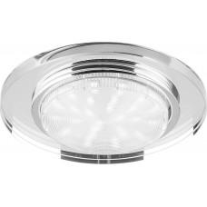 Светильник встраиваемый 4060-2 потолочный GX53 прозрачный 20157