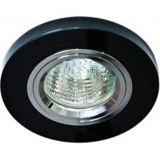 Светильник встраиваемый 8060-2 потолочный MR16 G5.3 черный 19905