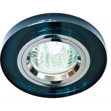 Светильник встраиваемый 8060-2 потолочный MR16 G5.3 серый 19713