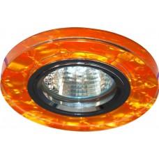Светильник встраиваемый 8081-2 потолочный MR16 G5.3 коричневый 28287
