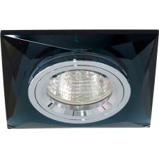 Светильник встраиваемый 8150-2 потолочный MR16 G5.3 серый 18641
