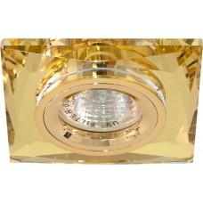 Светильник встраиваемый 8150-2 потолочный MR16 G5.3 желтый 18636