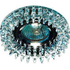 Светильник встраиваемый CD2540 потолочный MR16 G5.3 прозрачный, хром 18925