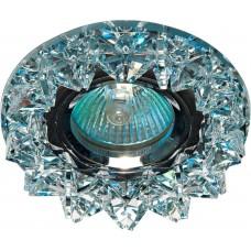 Светильник встраиваемый CD2542 потолочный MR16 G5.3 прозрачный, хром 18929