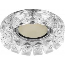 Светильник встраиваемый CD2929 потолочный MR16 G5.3 прозрачный 28417