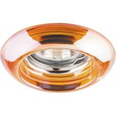Светильник встраиваемый CD4109 потолочный MR16 G5.3 прозрачно-красный 28180