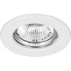 Светильник встраиваемый DL10 потолочный MR16 G5.3 белый 15109