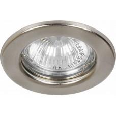Светильник встраиваемый DL10 потолочный MR16 G5.3 титан 15112