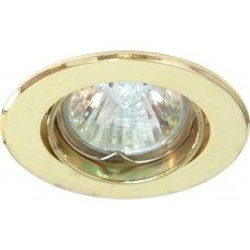 Светильник встраиваемый DL110 потолочный MR11 G4.0 золотистый 15002