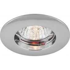 Светильник встраиваемый DL110A потолочный MR11 G5.3 хром 15008