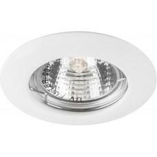 Светильник встраиваемый DL13 потолочный MR16 G5.3 белый 15126