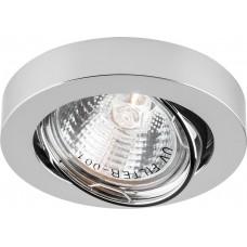 Светильник встраиваемый DL162 потолочный MR16 G5.3 хром 17947