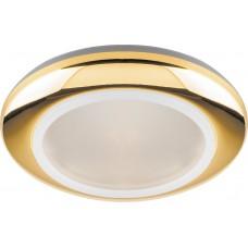 Светильник встраиваемый DL202 MR16 G5.3 золото 18890