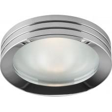 Светильник встраиваемый DL210 MR16 G5.3 хром 18593