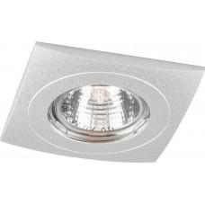 Светильник встраиваемый DL231 потолочный MR16 G5.3 алюминий 18603