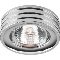 Светильник встраиваемый DL233 потолочный MR16 G5.3 хром 18606