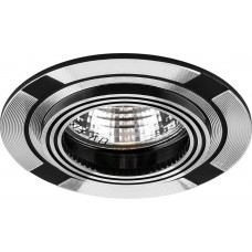 Светильник встраиваемый DL239 потолочный MR16 G5.3 черный-алюминий 18634