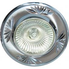 Светильник встраиваемый DL246 потолочный MR16 G5.3 титан-хром 17900