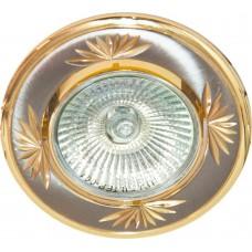 Светильник встраиваемый DL246 потолочный MR16 G5.3 титан-золото 17899