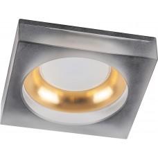 Светильник встраиваемый DL2540 потолочный MR16 G5.3 матовый черный,золото 32635