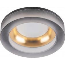 Светильник встраиваемый DL2541 потолочный MR16 G5.3 матовый черный,золото 32636
