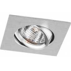 Светильник встраиваемый DL273 потолочный MR16 G5.3 алюминий-хром 18480