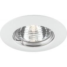 Светильник встраиваемый DL307 потолочный MR16 G5.3 белый 15009