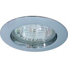 Светильник встраиваемый DL307 потолочный MR16 G5.3 хром 15012