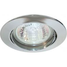 Светильник встраиваемый DL308 потолочный MR16 G5.3 хром 15070