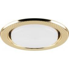 Светильник встраиваемый DL5042 потолочный GX53 золото 29749