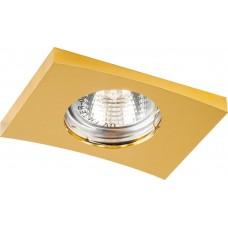 Светильник встраиваемый DL5A потолочный MR16 G5.3 золото 28367