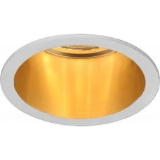 Светильник встраиваемый DL6003 потолочный MR16 G5.3 белый, золото 29732