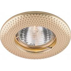 Светильник встраиваемый DL6042 потолочный MR16 G5.3 золото 28955