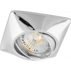 Светильник встраиваемый DL6046 потолочный MR16 G5.3 хром поворотный 28881