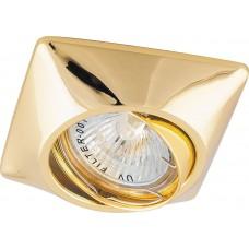 Светильник встраиваемый DL6046 потолочный MR16 G5.3 золото поворотный 28880