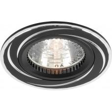 Светильник встраиваемый GS-M361 потолочный MR16 G5.3 черный 18896