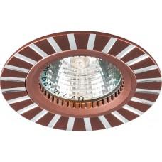 Светильник встраиваемый GS-M364 потолочный MR16 G5.3 коричневый 28213