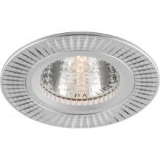 Светильник встраиваемый GS-M369 потолочный MR16 G5.3 серебристый 17933