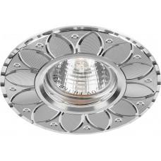 Светильник встраиваемый GS-M389 потолочный MR16 G5.3 серебристый 28950