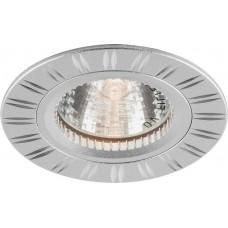 Светильник встраиваемый GS-M393 потолочный MR16 G5.3 серебристый 17939