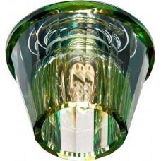 Светильник встраиваемый JD150 потолочный JСD9 G9 прозрачный-желтый 18777