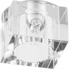 Светильник встраиваемый JD57B потолочный JCD9 G9 прозрачный 17264