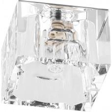 Светильник встраиваемый JD62 потолочный JCD9 G9 прозрачный, хром 18861