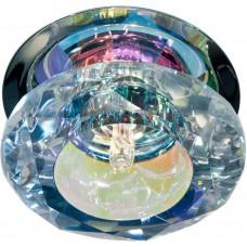 Светильник встраиваемый JD83M потолочный JC G4 прозрачный, многоцветный 17266