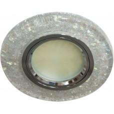 Светильник встраиваемый с белой LED подсветкой 8585-2 потолочный MR16 G5.3 белый