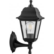 Светильник садово-парковый НБУ 04-60-001, вверх/вниз, 4-х гранник 60W E27 230V, черный 32226